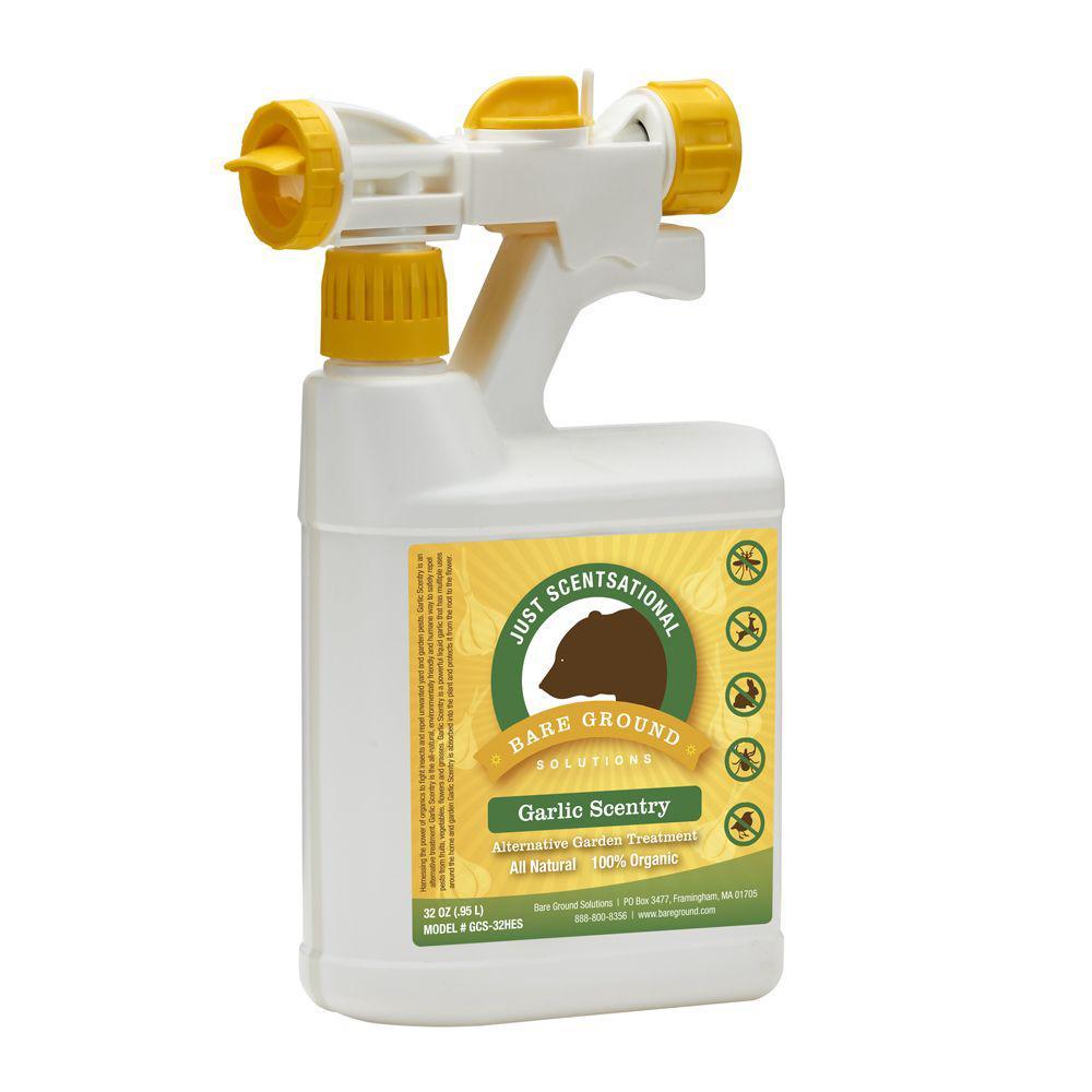 32 oz. Garlic Concentrate Pest Repellant in Hose End Sprayer