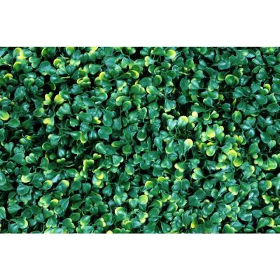 20 in. x 20 in. Artificial Ficus Gold Wall Panels (Set of 4)