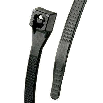 8 in. Xtreme Cable Tie, Black (100-Pack)