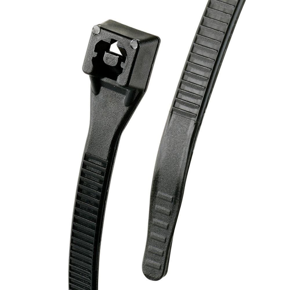 Gardner Bender Gardner Bender 8 in. Xtreme Cable Tie, Black (100-Pack)