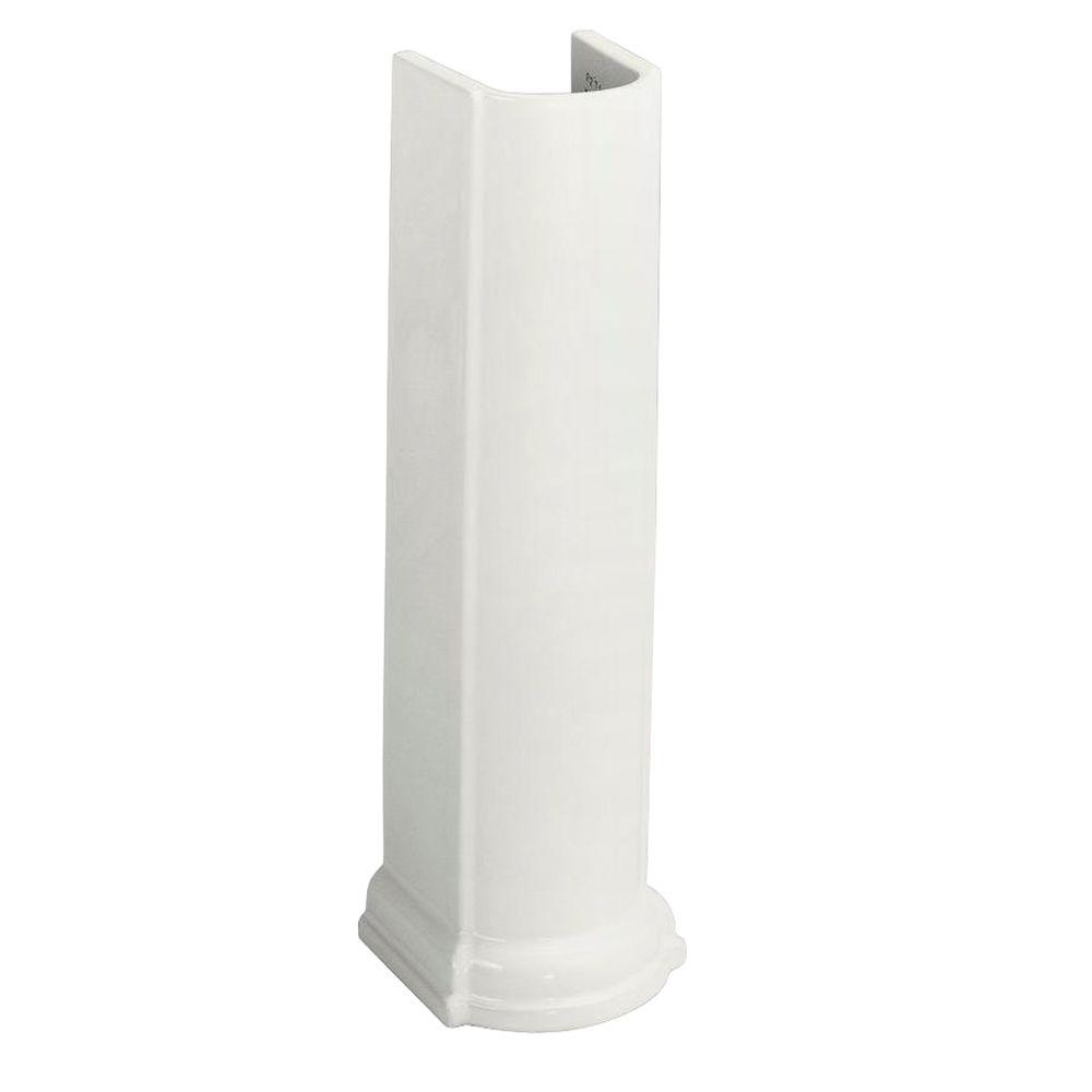 Devonshire Vitreous China Pedestal in White