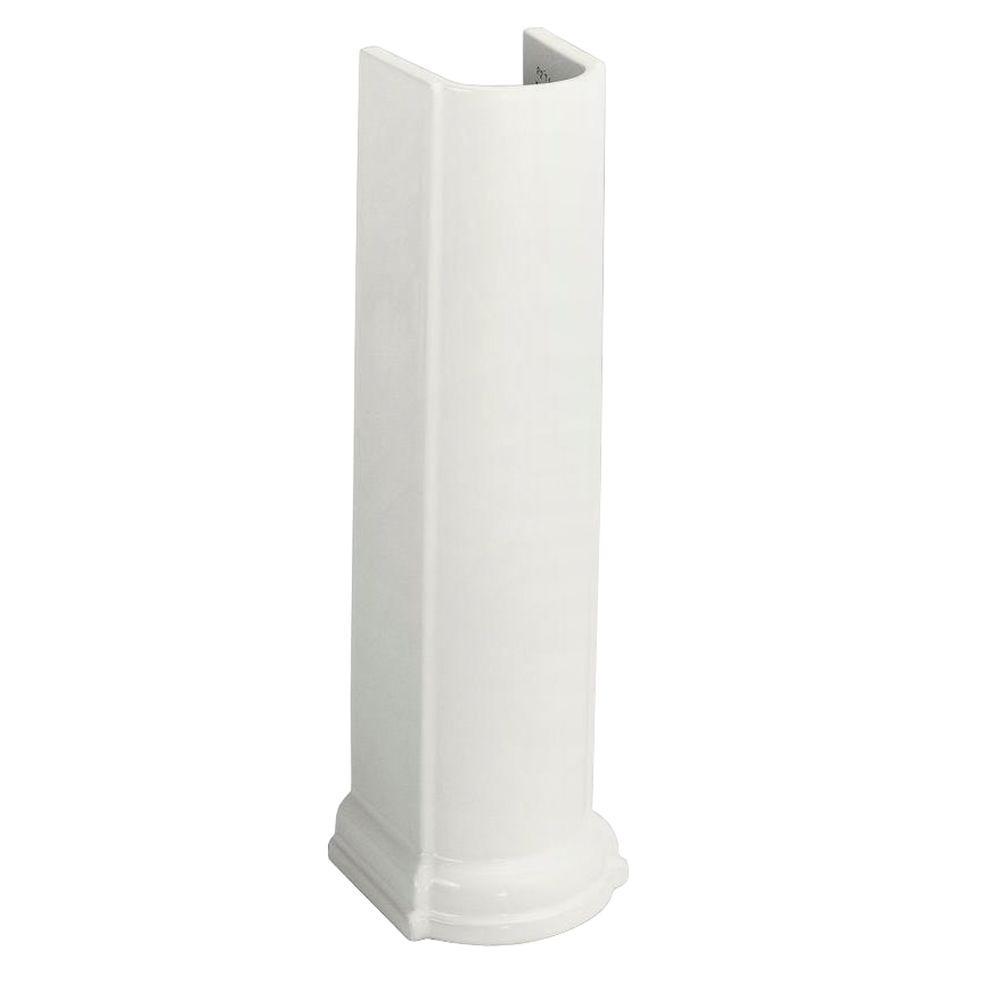 KOHLER Devonshire Vitreous China Pedestal in White