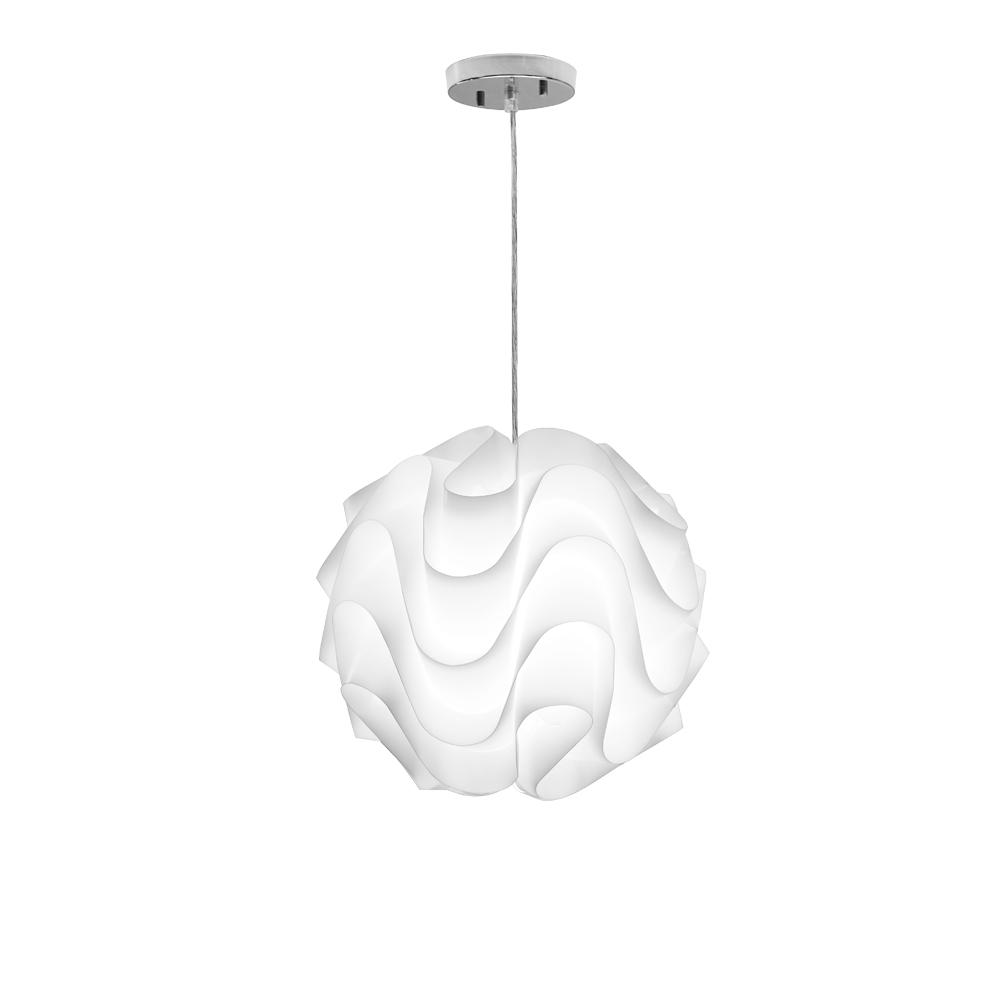 Filament Design Catherine 3Light White PendantCLIDN14079037