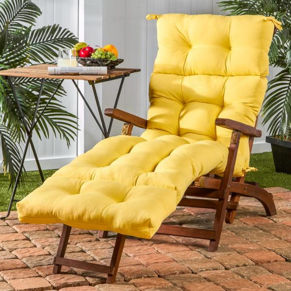 Solid Sunbeam Outdoor Chaise Lounge