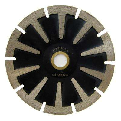 5 in. T-Segmented Contour Diamond Blade for Curved Cutting