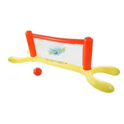 94 in. Inflatable Pool Volleyball Game Set