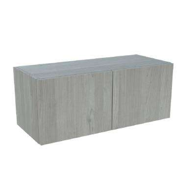 Ready to Assemble 36x18x12 in. Bridge Base Cabinet in Grey Nordic Wood