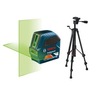 Bosch Self-Leveling Green-Beam Cross-Line Laser with Free Compact Tripod with Extendable... by Bosch