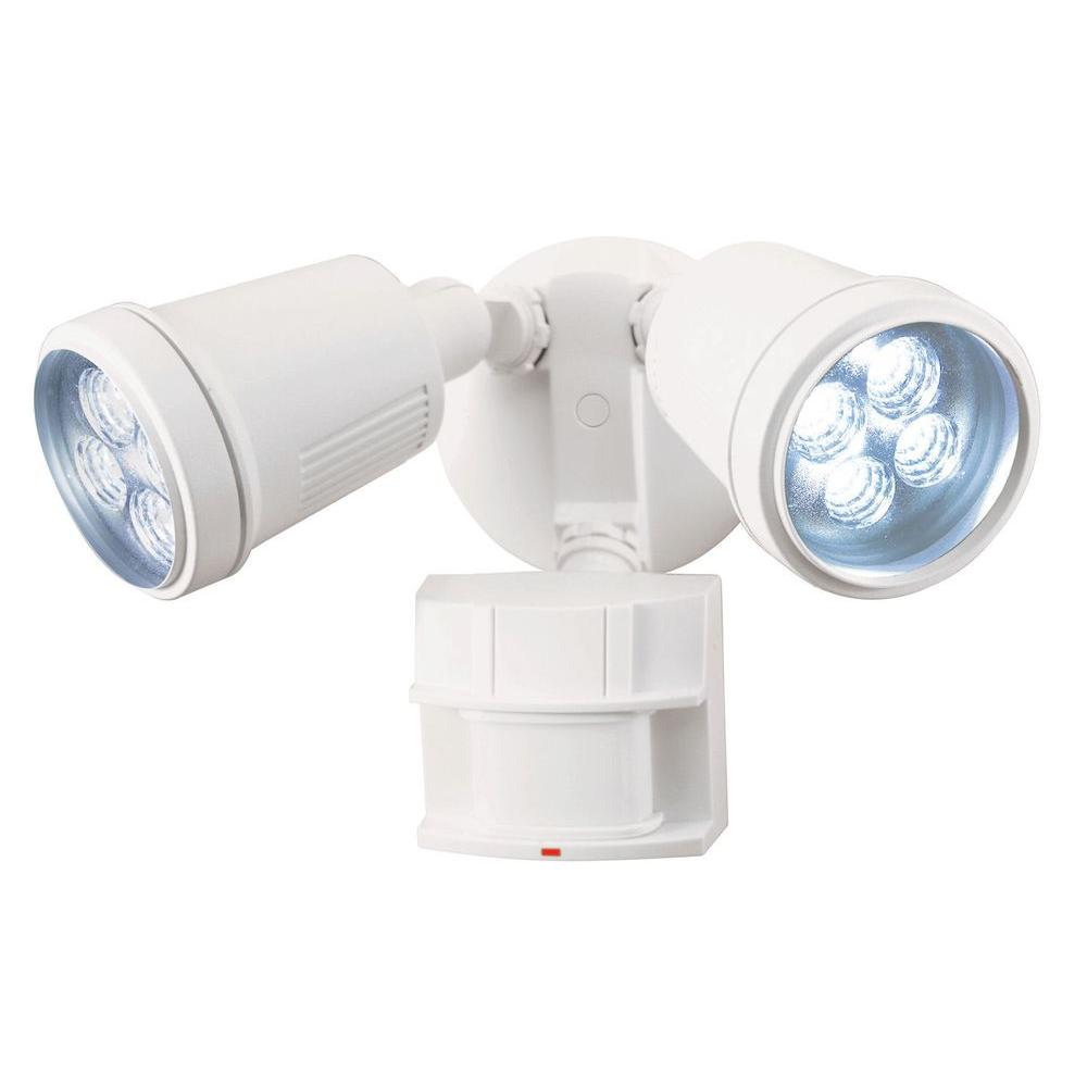Heath Zenith 180 Degree LED Motion Sensing Security Light-DISCONTINUED
