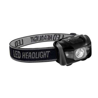 3-Watt Head Light with Adjustable Band in Black