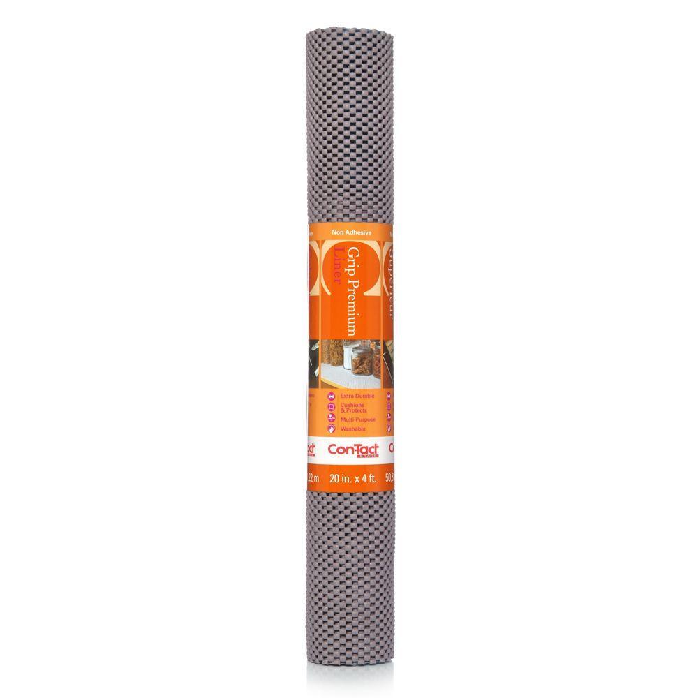Con-Tact Grip Premium Gun Metal Shelf/Drawer Liner 04F-C6N83-06