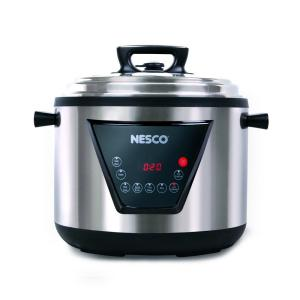 Click here to buy Nesco 11 Qt. Multi-Function Pressure Cooker by Nesco.