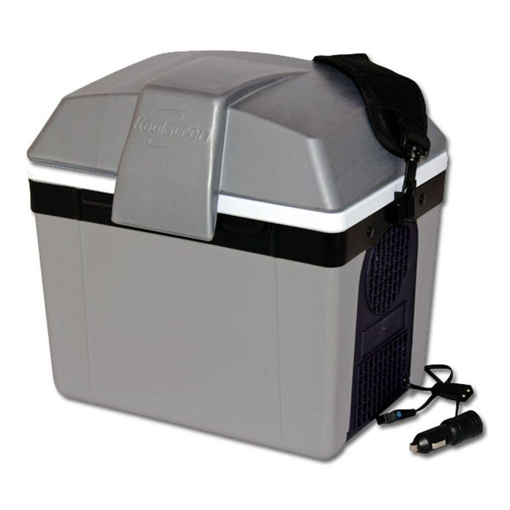 Koolatron 8 qt. Traveller lll Cooler (12-Volt),  Grays