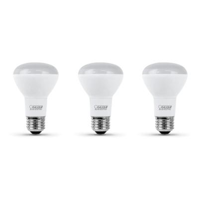 45-Watt Equivalent R20 Dimmable CEC Title 20 Compliant LED ENERGY STAR 90+ CRI Flood Light Bulb, Daylight (3-Pack)