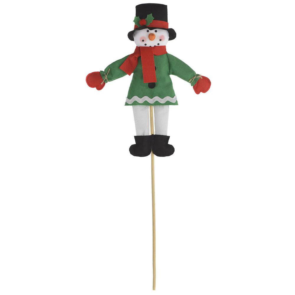 Amscan Friendly Snowman 25 in. Christmas Yard Sign (4-Pack)