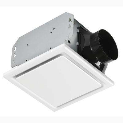 110CFM Ceiling No Cut Installation Bathroom Exhaust Fan