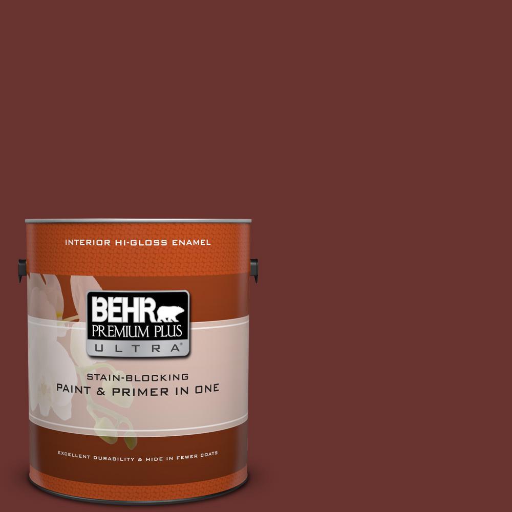 1 gal. #BXC-69 Cimarron Hi-Gloss Enamel Interior Paint