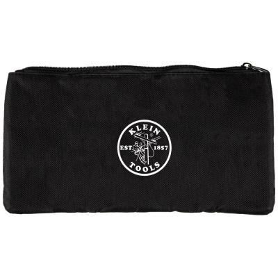 13 in. Zipper Pouch Bag for Tone and Probe PRO Kit, Black Nylon