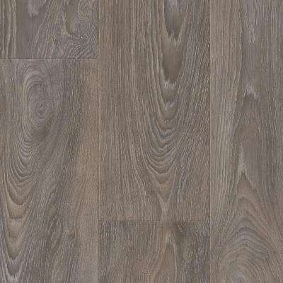 Take Home Sample Scorched Walnut Grey Vinyl Sheet - 6 in. x 9 in.