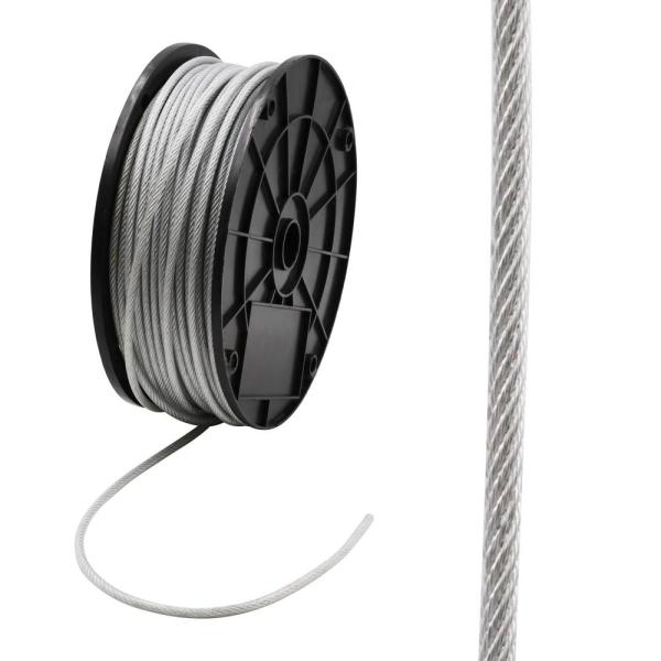 1/8 in. x 250 ft. Galvanized Vinyl Coated Steel Wire Rope