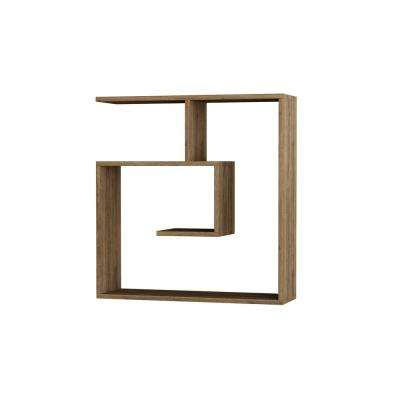 Woodstock Oak Modern Wall Shelf