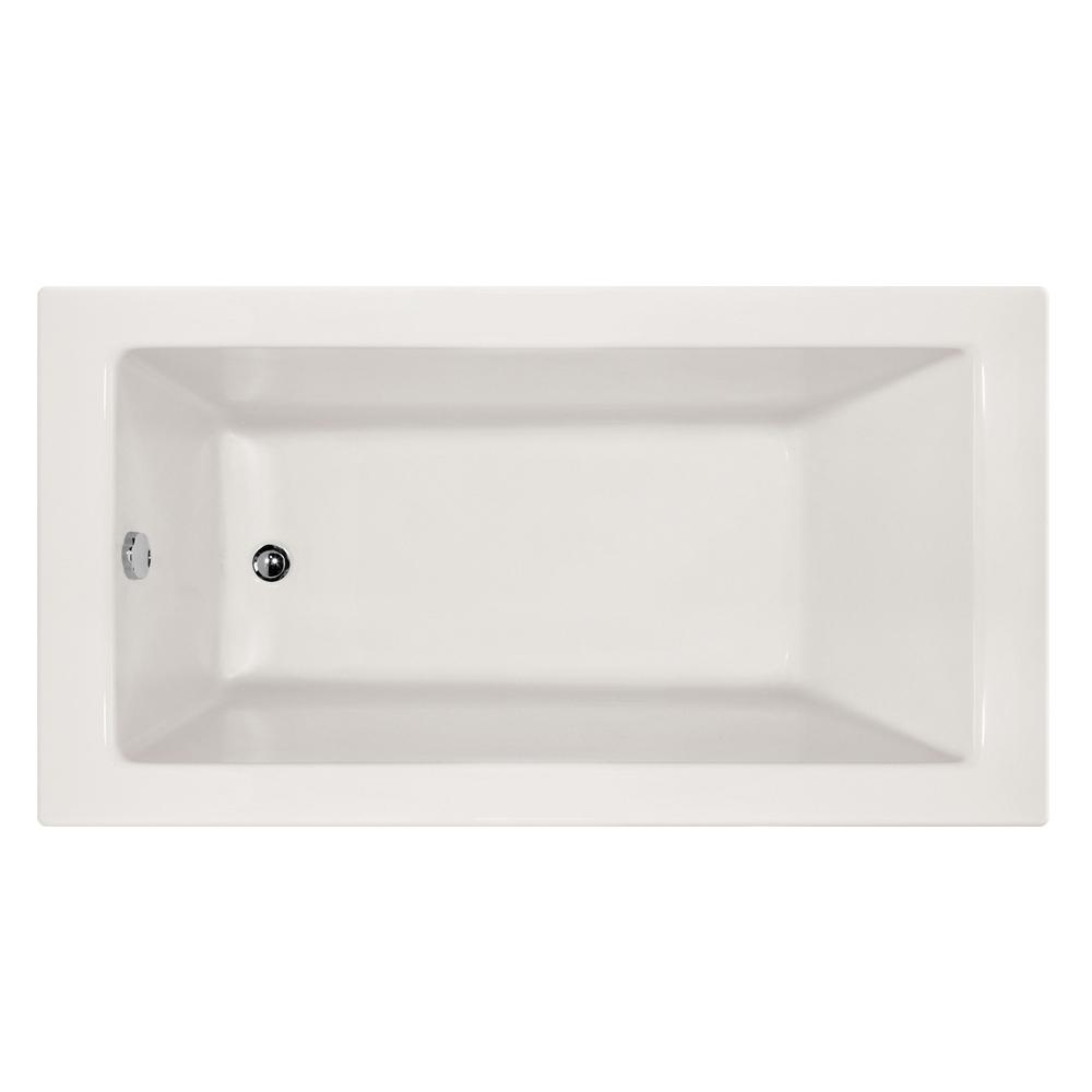 Hydro Systems Studio Sydney 66 in. Acrylic Rectangular Drop-in Left ...