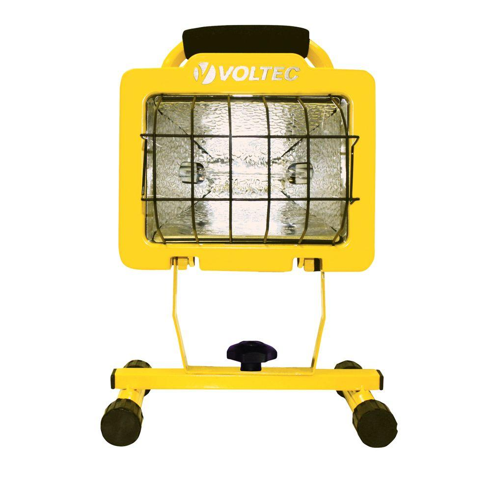 Craftsman 500 Watt Halogen Worklight: Voltec 500-Watt Heavy Duty Halogen Work Light-08-00609
