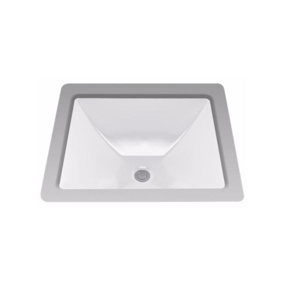 Toto Legato Undermount Bathroom Sink With Cefiontect In Colonial White Lt624g 11 The Home Depot
