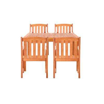 Coolidge 5-Piece Wood Rectangle Outdoor Dining Set