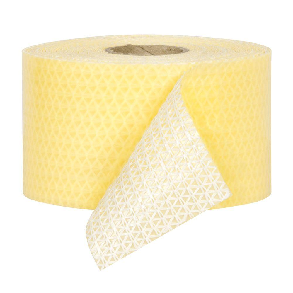 Roberts 60 ft. x 3.5 in. Carpet Gripper Pressure Sensitive Mesh Tape for Removable Carpet Installations