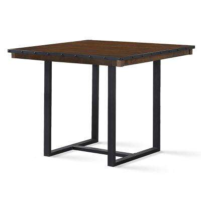 Lori Rustic Chestnut Counter Table