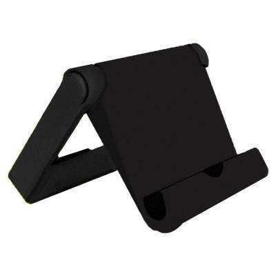 Universal Folding Stand for Tablets and Smartphones, Black