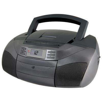 Stereo Boom Box with CD, AM/FM, Cassette