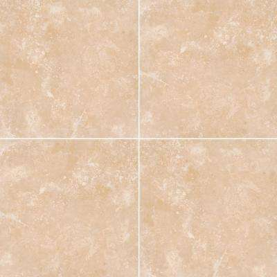 Diego 18 in. x 18 in. Honed Travertine Wall and Floor Tile (150 pieces / 337.5 sq. ft. / pallet)