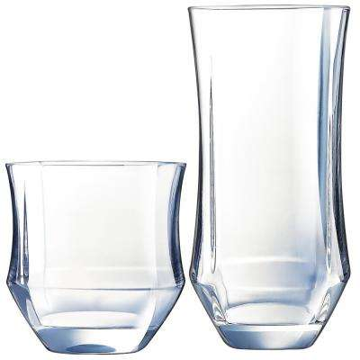 Baroque 16-Piece Tumbler Set