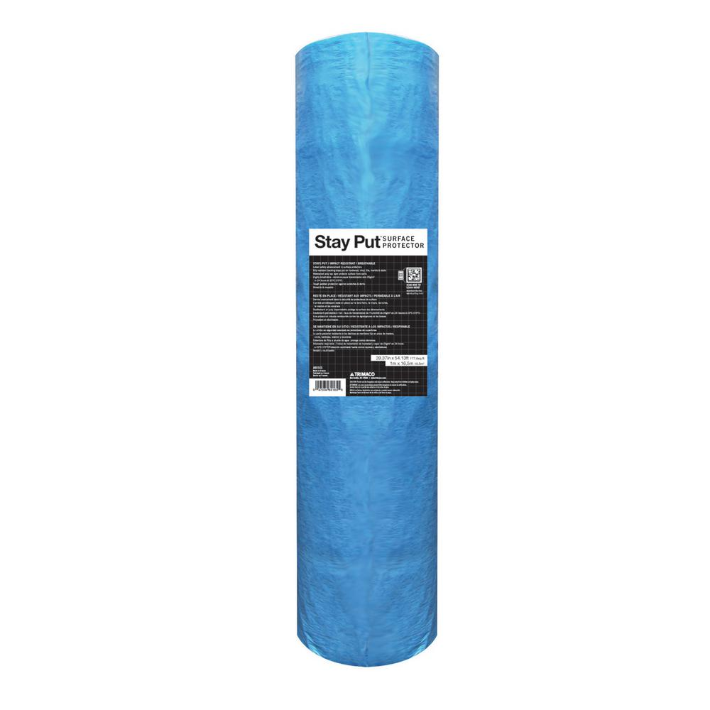Stay Put 39.37 in. x 54.13 ft. Stay Put Surface Protector