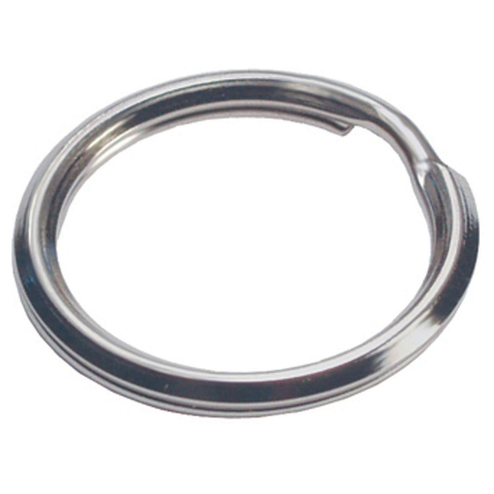 2af86c4db2 Hillman 3/4 in. Split Key Ring (10-Rings)-701285 - The Home Depot
