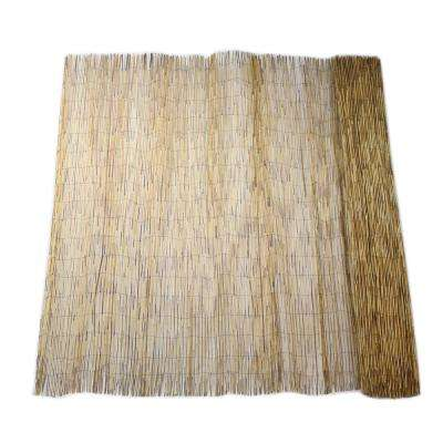 6 ft. H x 16 ft. L Bamboo Coffee Peeled Reed Fencing