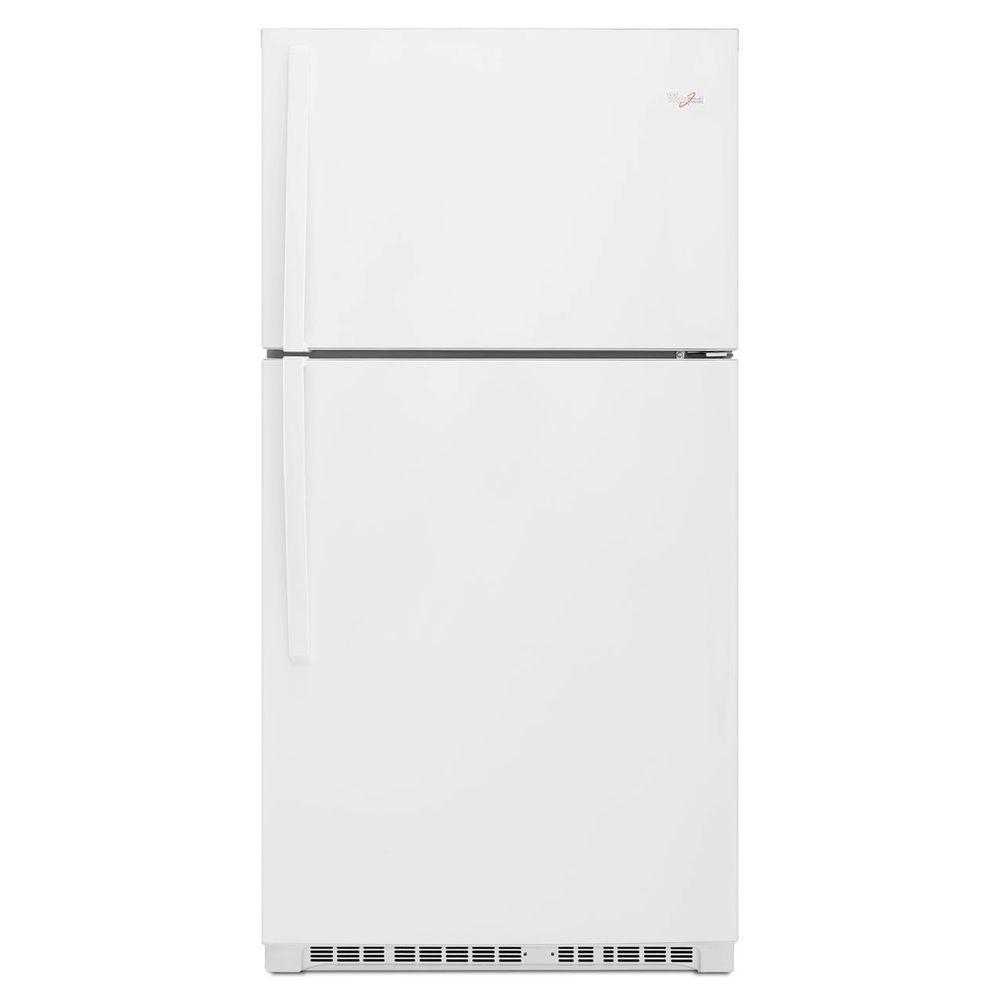 Whirlpool 21.3 cu. ft. Top Freezer Refrigerator in White