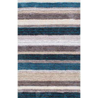 Don Blue Multi 3 Ft X 5 Area Rug