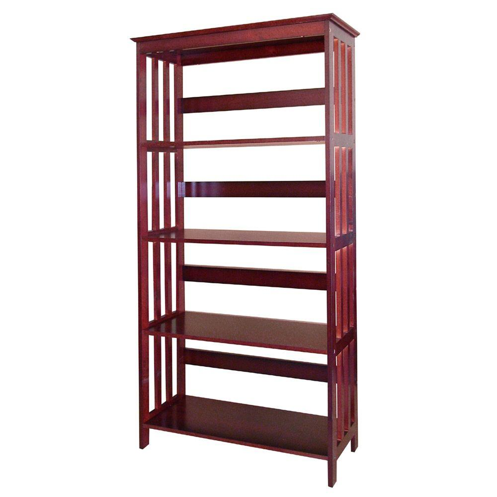 Cherry Open Bookcase