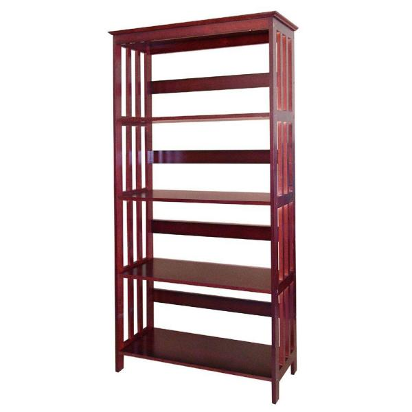 undefined Cherry Open Bookcase