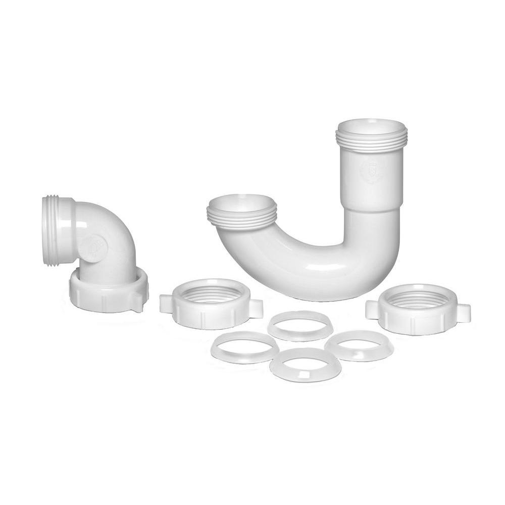 1-1/2 in. Plastic Repair Trap Kit
