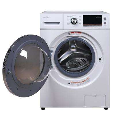 2.0 cu. ft. All-in-One Front Load Washer and Electric Dryer in White