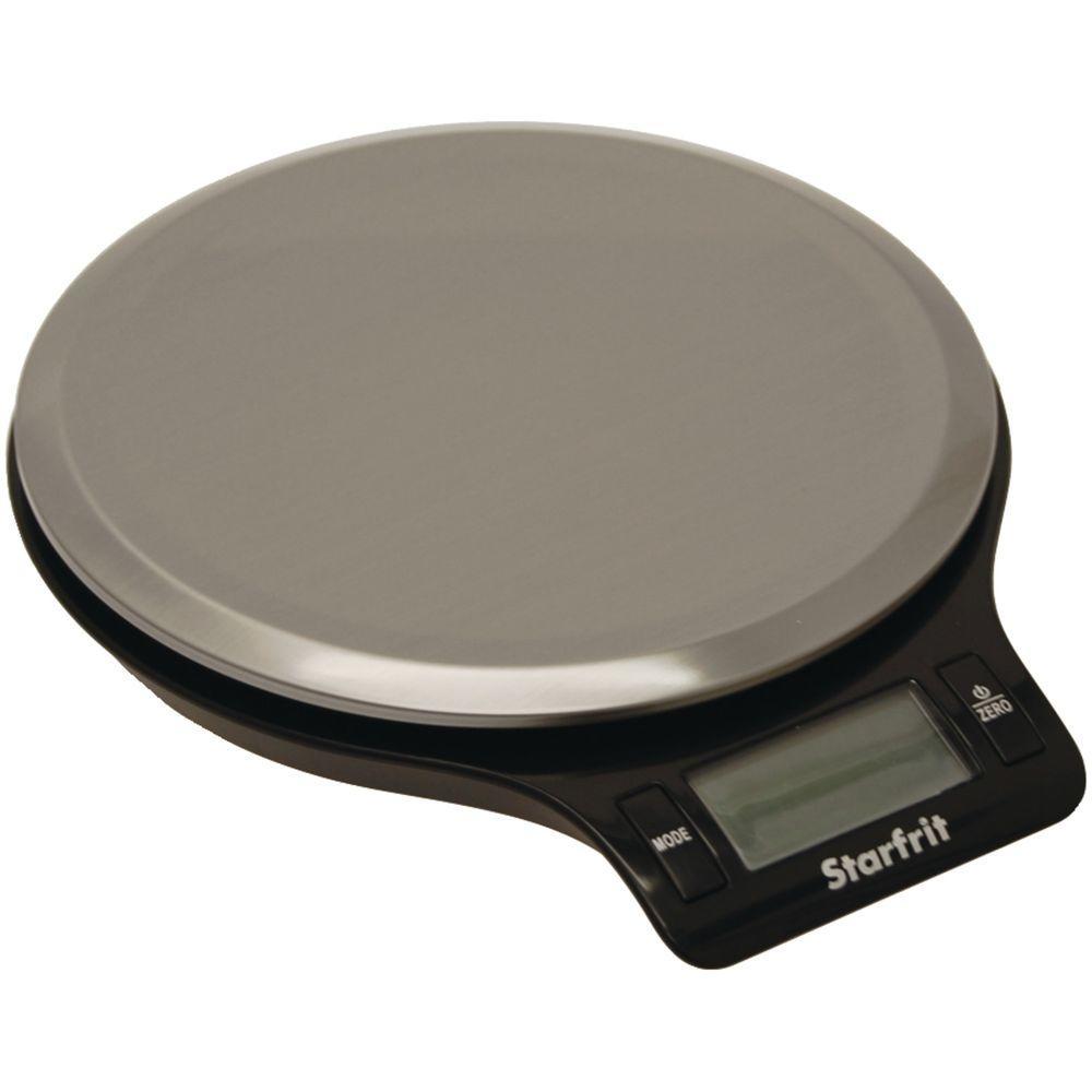 Starfrit Digital Kitchen Food Scale in Black by Starfrit