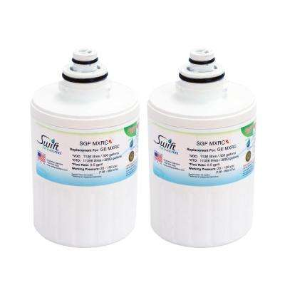 Replacement Water Filter for GE MXRC (2-Pack)