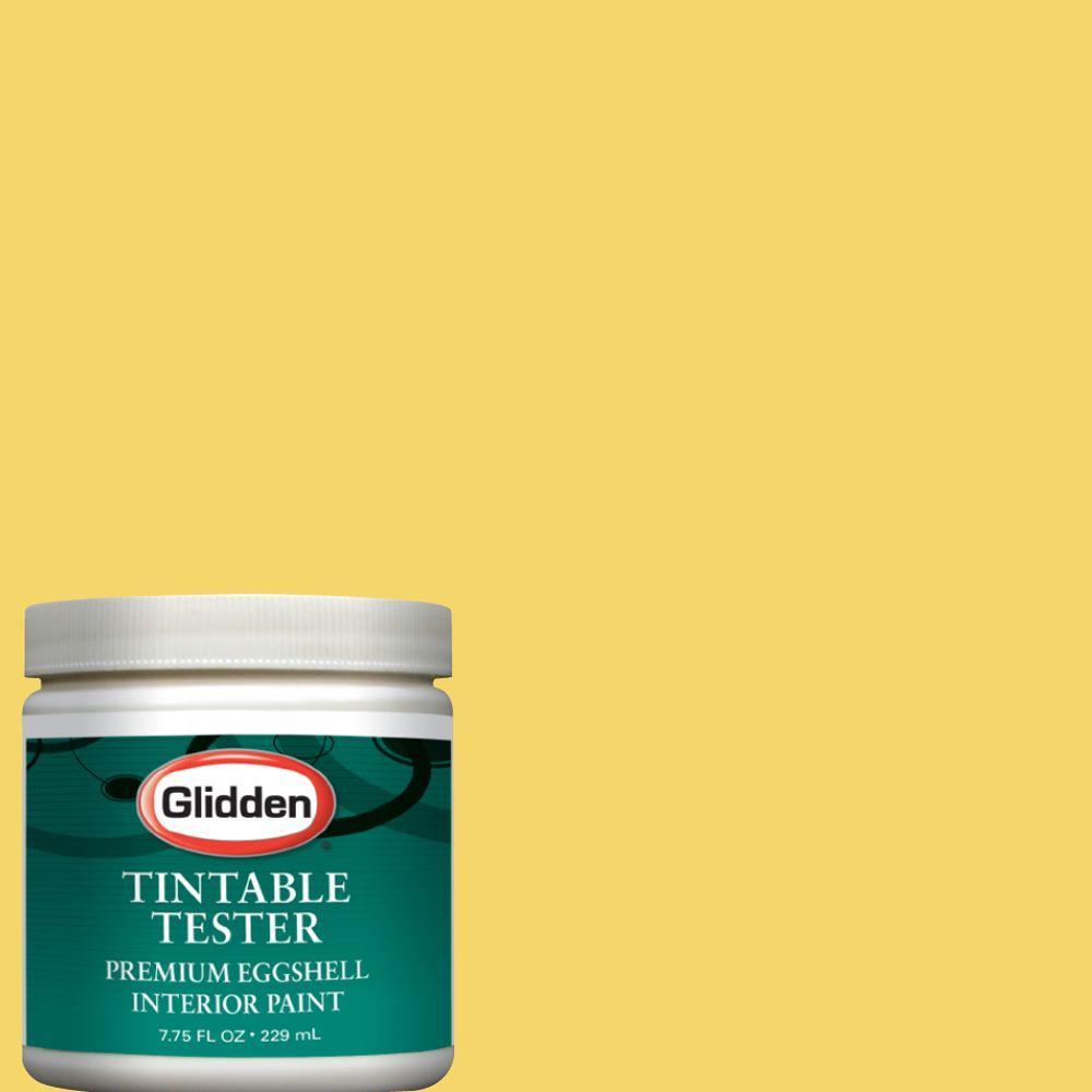 Glidden Premium 8-oz. Goldenrod Interior Paint Tester