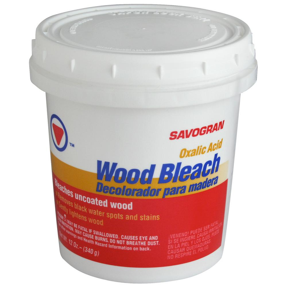 SAVOGRAN Savogran 10501 12 Oz Wood Bleach-30142 - The Home Depot