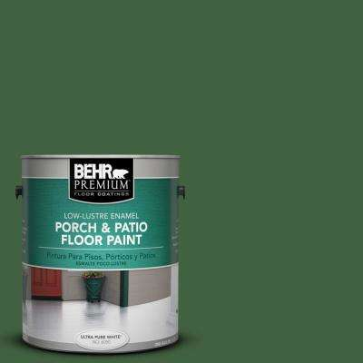 1 gal. #S400-7 Deep Viridian Low-Lustre Porch and Patio Floor Paint