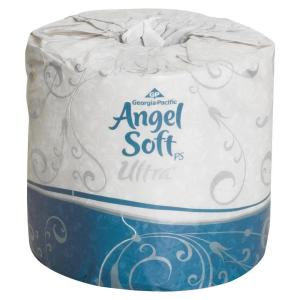 angel soft toilet paper soft 4 05 in x 4 50 in bath tissue 2 ply 400 10059